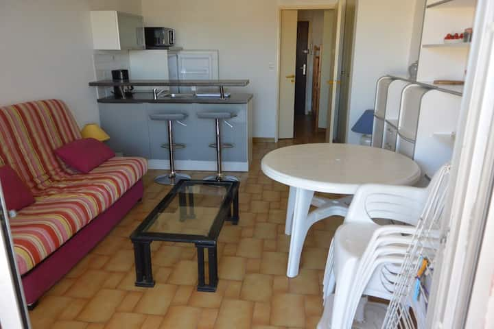 Alcove studio, 4 people, LES INDES GALANTES residence