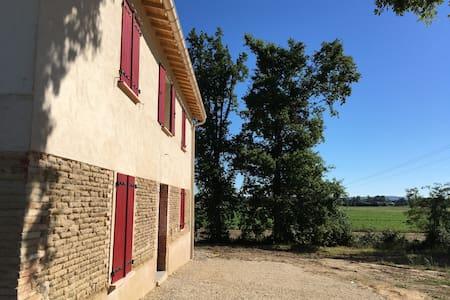 Gîte 20 pers avec vue sur les vignes - Albias - Casa