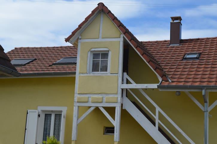 Appartement agréable à vivre aux portes de Colmar - Bischwihr - Lägenhet