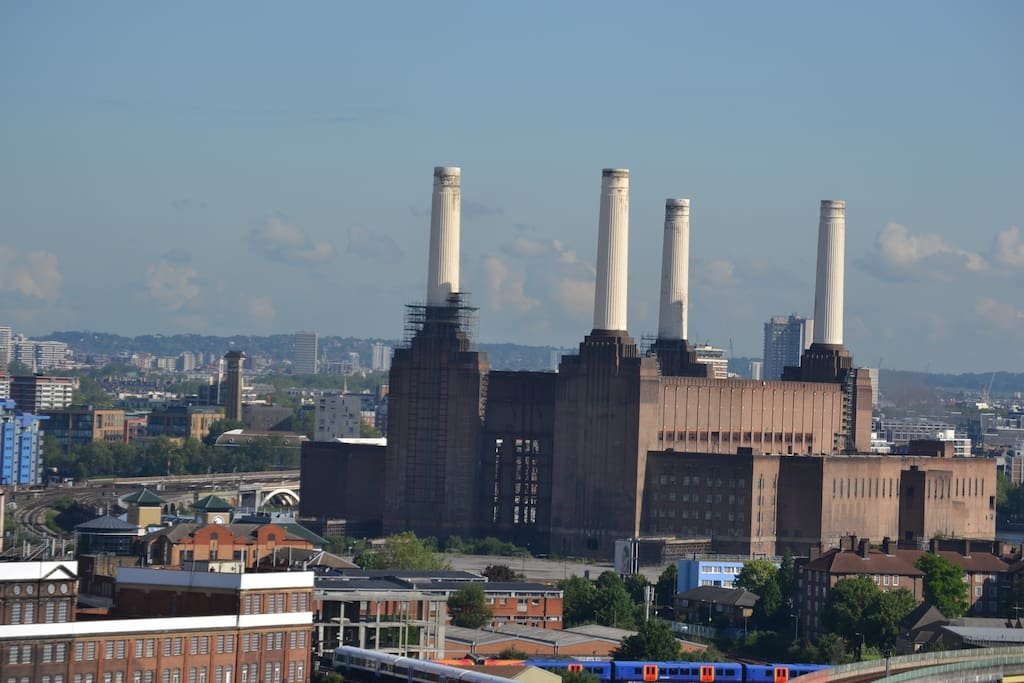 One of the most iconic buildings in London Battersea Power Station