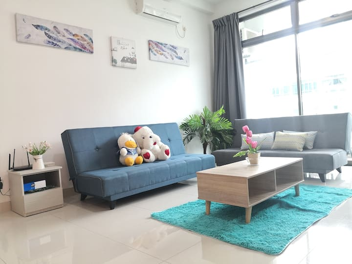 Cosy family suite for 6-8pax
