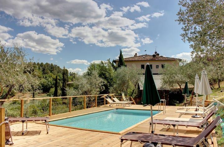 Il Fienile, amazing villa in the heart of Tuscany.