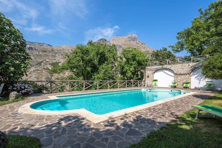 Rocca Angelica  Swimming pool (Vico Equense)