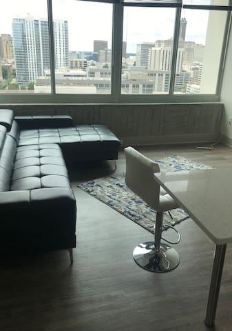 Downtown Atlanta luxury getaway high rise
