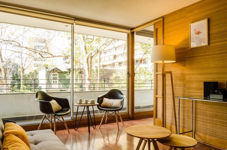 Modern Apart, 2BR 2 Bath in suite, Providencia