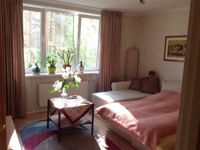 Lovely flat near pine forest, 3Min walk to the sea - Jūrmala