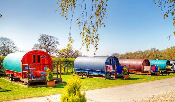 Romany Caravan Escapes nr Bournemouth