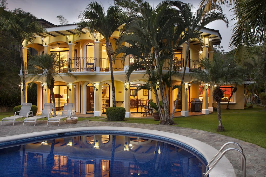 Outdoor with private swimming pool