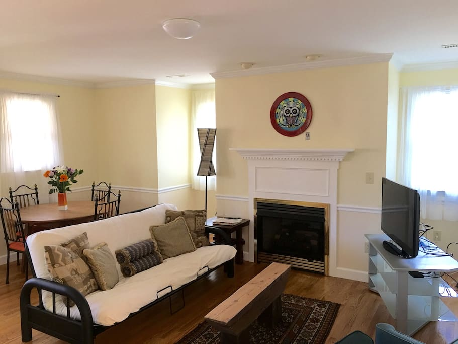 A comfortable living area for the duration of your stay