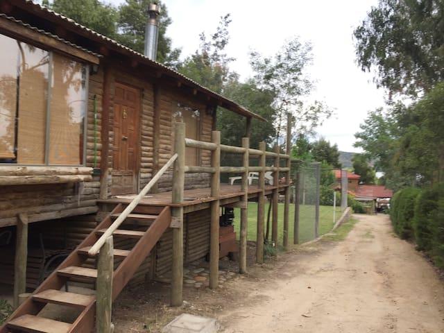 Cabaña Rustica en Lago Rapel