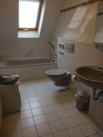 Private room in Bibersfeld near Schwäbisch Hall - Schwäbisch Hall - Leilighet