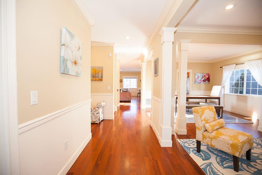 Hallway as you enter into the home