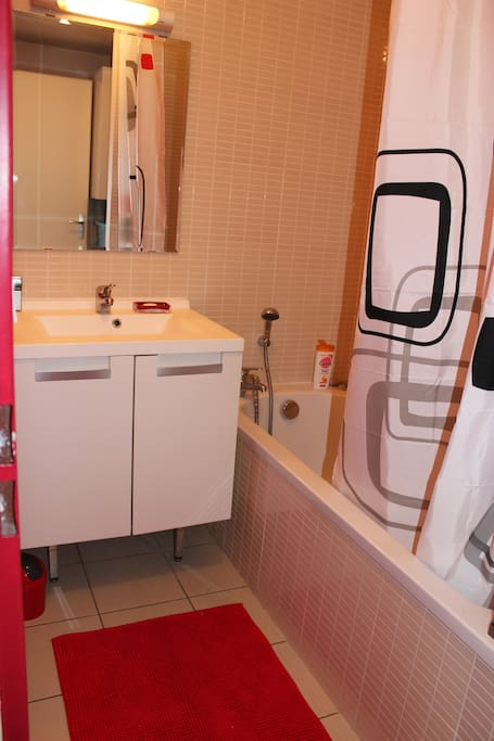 Salle de bain privative / Private bathroom