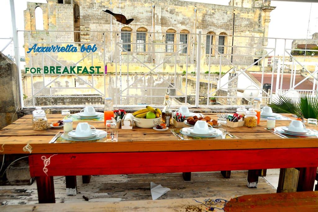 colazione italiana / Italian breakfast