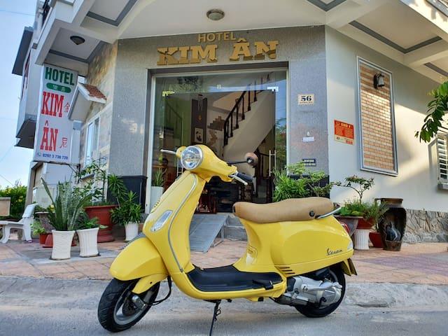 Budget hotel city Ninh Kieu. Great quiet location