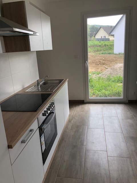 Apartment on the ground floor in Leymen - Basel Dog suitable
