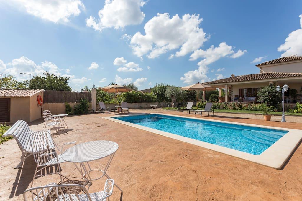 villa in palma de mallorca includes swimming pool case