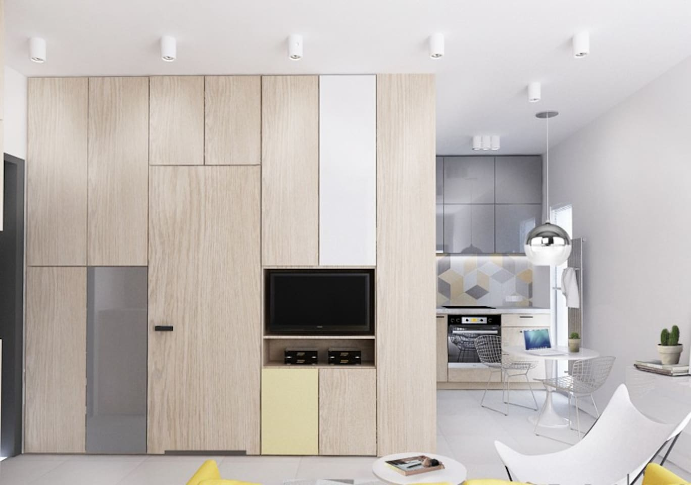 Modern Warsaw Apartment - Apartments for Rent in Warszawa ...