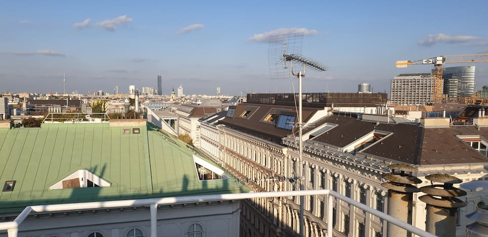 3-storey city-center loft terrace&view over Vienna