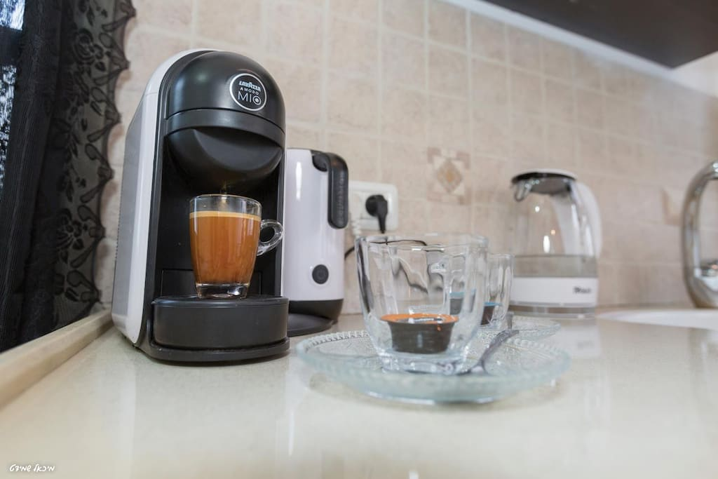 Coffee Machine In All Rooms