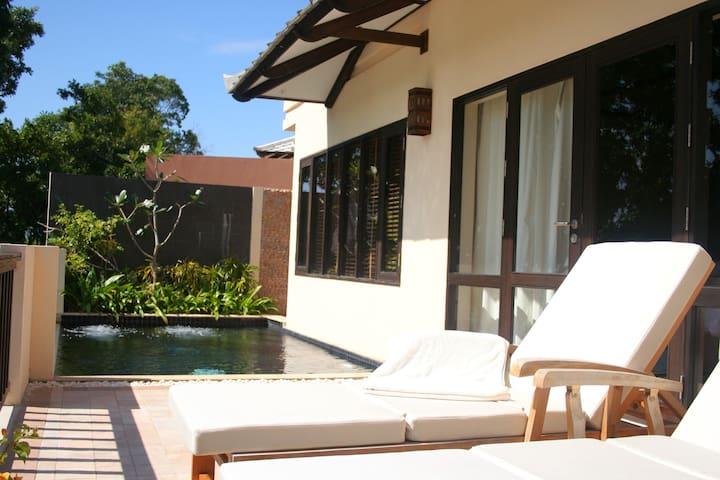 195 Sqm-One Bedroom Pool Villa Garden+Breakfast