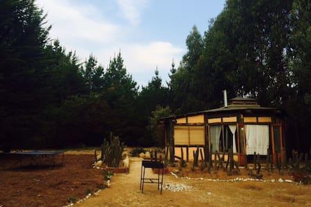 El Tebito Lodge. Beach & Forest. Glamping - Puchuncavi - 自然小屋