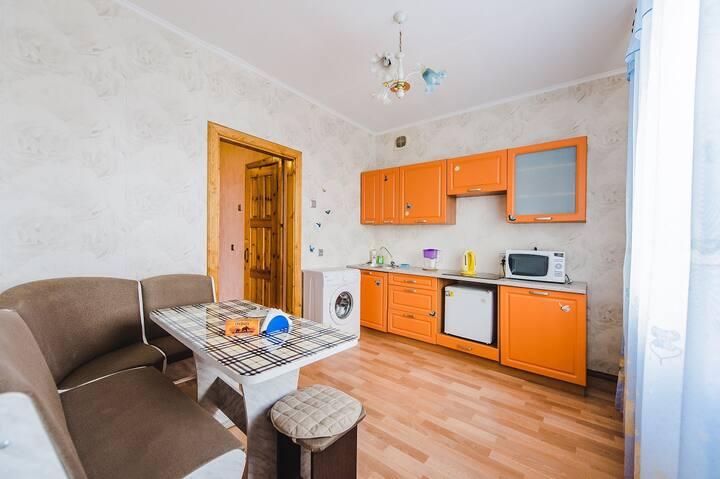 1-комнатная квартира № 3, ул. Чкалова 25 (8 этаж)