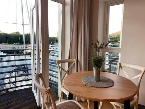 Modern apartment overlooking Lough Derg