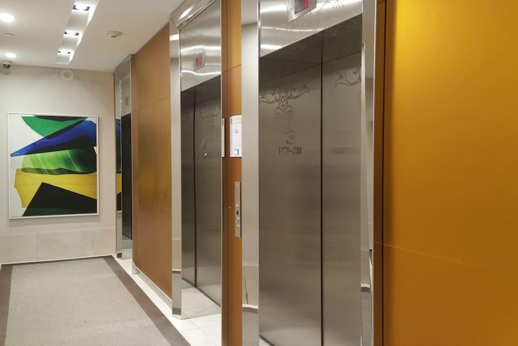 Entrance Elevator