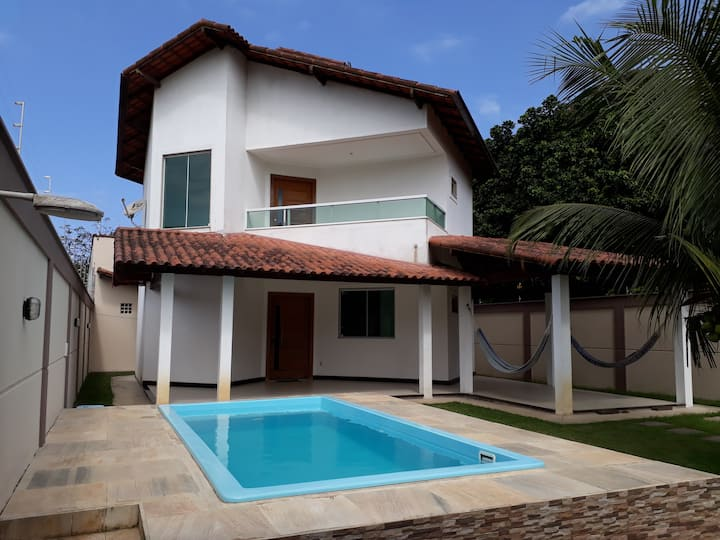 Linda casa de praia em Manguinhos- Serra- ES