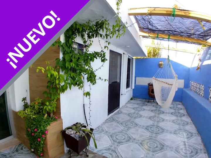 Casa Elena del mar (1 habitación - 2 personas)