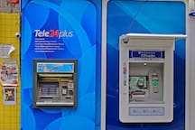 ATMs near by house