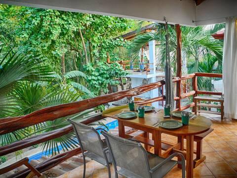 Villa Selva - a perch above the pool & jungle