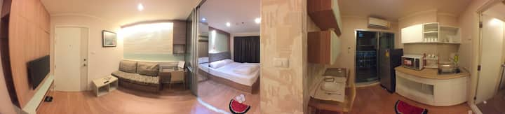 Studio Near Mega Bangna + Airport Room#3