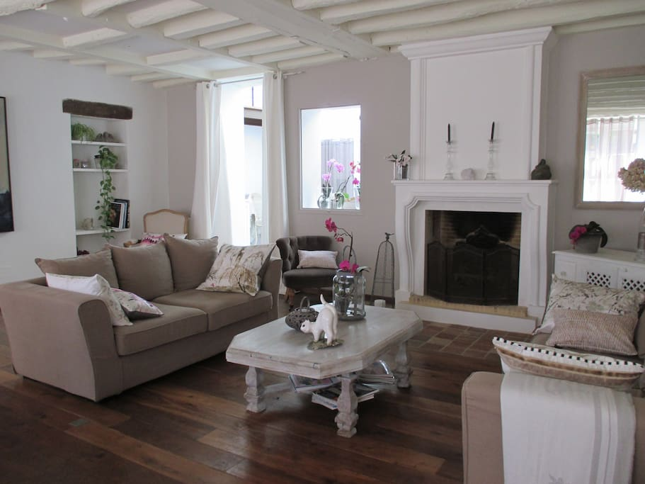living room for customers