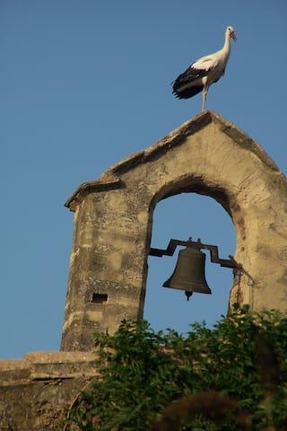 Grand Logis au centre de l'ancien monastère
