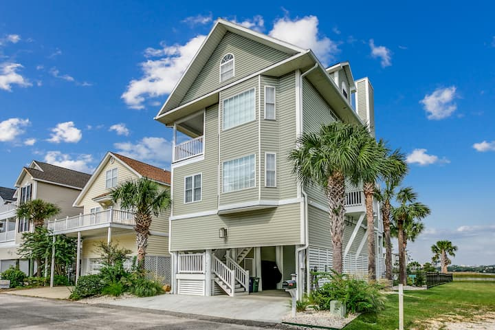 Mermaid Cove 4BR 3.5 Bath, 2 bks away frm beach