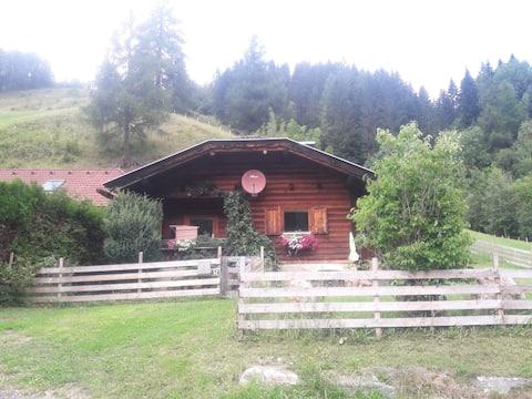 Cabane en rondins en bois pour se sentir bien