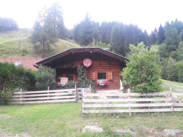 Holzblockhaus zum Wohlfühlen