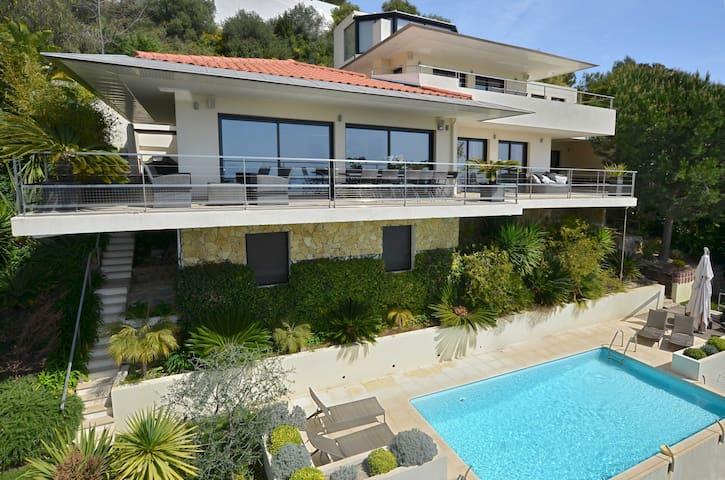Luxieuse villa contemporaine vue mer à Eze - Èze - Villa