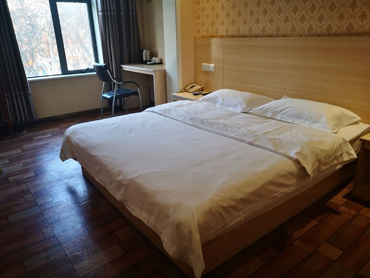 【遇见洛邑*古城】古城景区酒店精品大床房