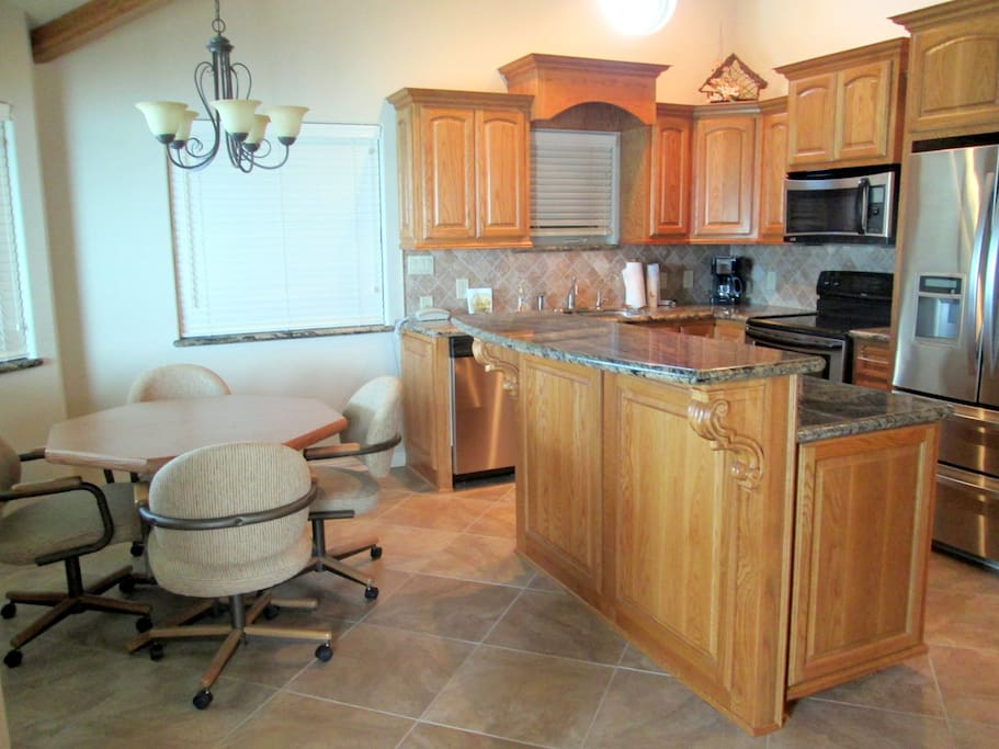 View of Beautiful  Kitchen/ Dining Area