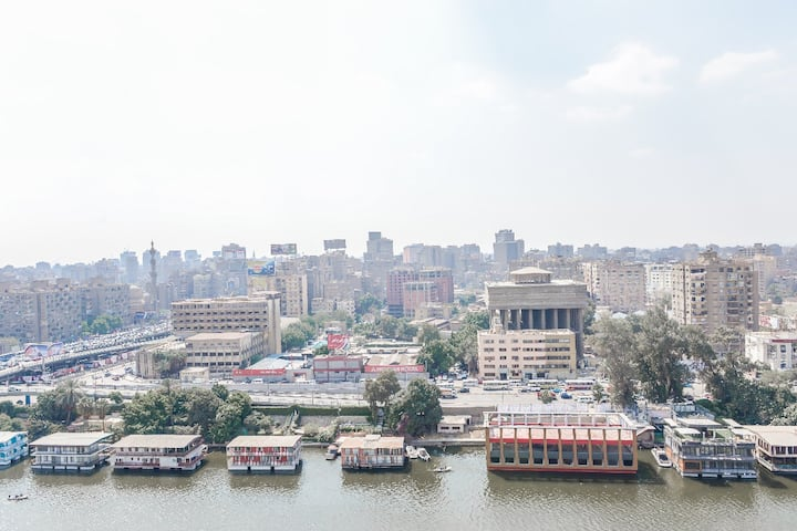 Nile View Hotel Room - Zamalek