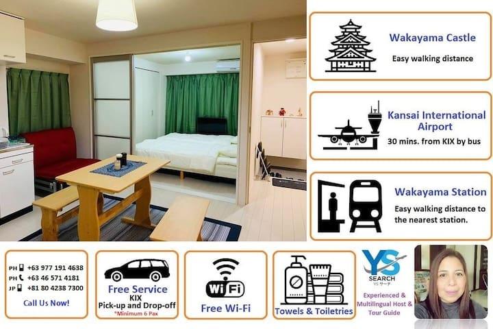 AJISAI MANSION - Your Home in Wakayama, Japan!