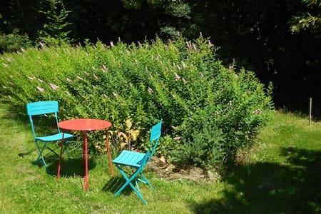 Grand studio à la campagne, avec coin jardin - Guichen