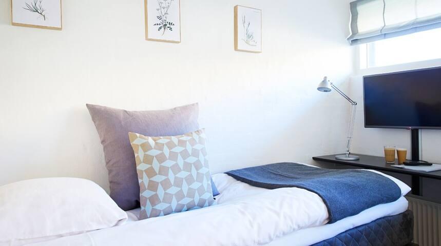 Enkelt værelse - Aarhus - Bed & Breakfast
