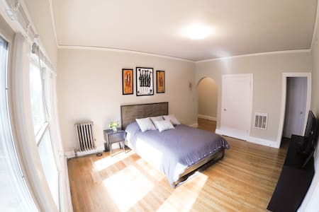 Spacious Studio Downtown Oakland Near Fox Theater - Oakland - Lägenhet