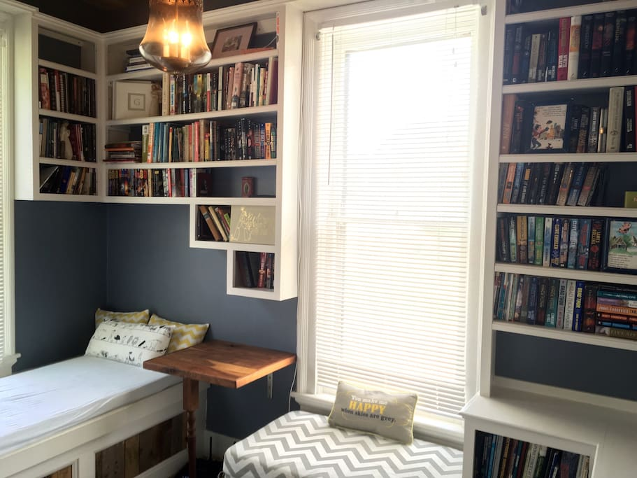 Library-curl up and read your favorite book in this bonus room!