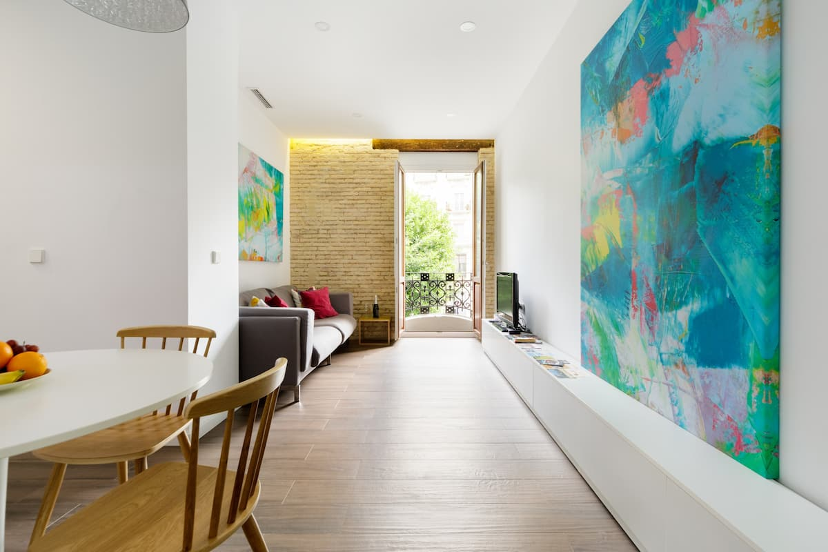 Disfruta del ambiente en Apartamento Contemporáneo