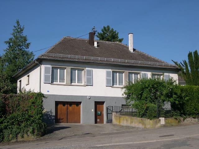 Maison individuelle 3*** de plein-pied à Rosheim - Rosheim - House